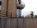 cancello scorrevole in legno