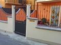 recinzione casa singola con pedonale