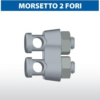 Morsetto 2 fori