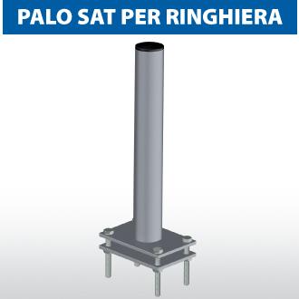 Palo SAT per ringhiera