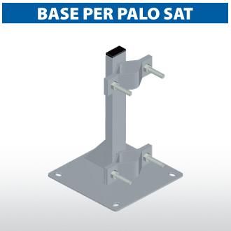 Base per palo SAT