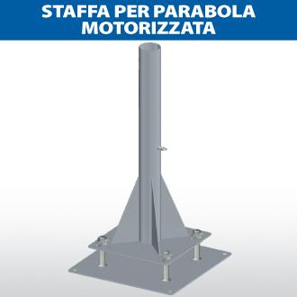 Staffa per parabola motorizzata