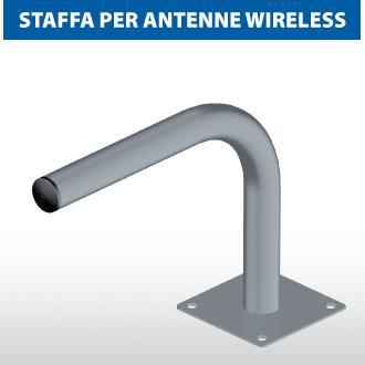 Staffa per antenna Wireless