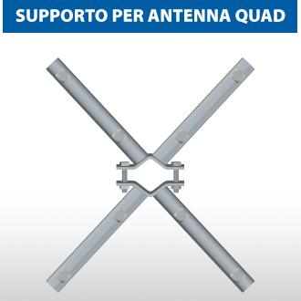 Supporto per antenna Quad