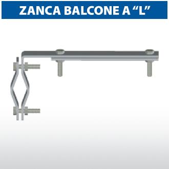 """Zanca balcone a """"L"""""""