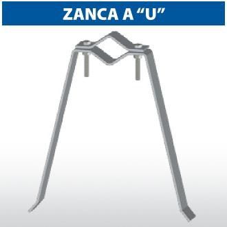 """Zanca a """"U"""""""