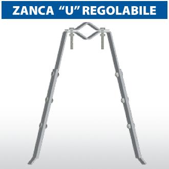 """Zanca a """"U"""" regolabile"""